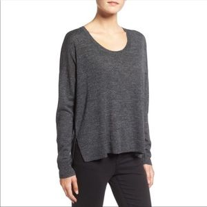 Madewell Charcoal Merino Wool Sweater | XS